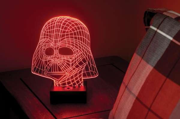 Lampe - Star Wars: Darth Vader (holografisches 3D Licht, ca. 25cm)
