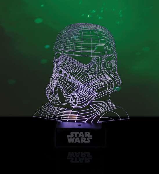 Lampe - Star Wars: Stormtrooper (holografisches Licht)
