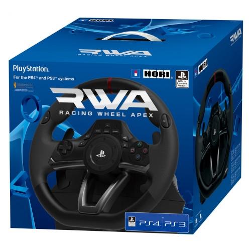 ps4 lenkrad rwa racing wheel apex playstation 4 neu ebay. Black Bedroom Furniture Sets. Home Design Ideas
